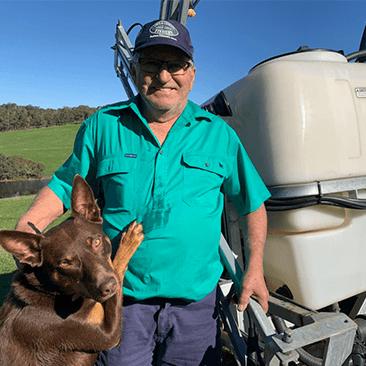 Croplands customer_Bill Wenske